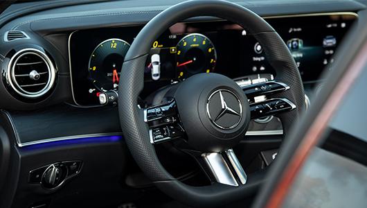 Nội Thất Mercedes-Benz E 300 AMG