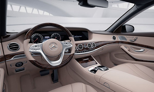 Nội Thất Mercedes-Benz S 450 L Limited Edition