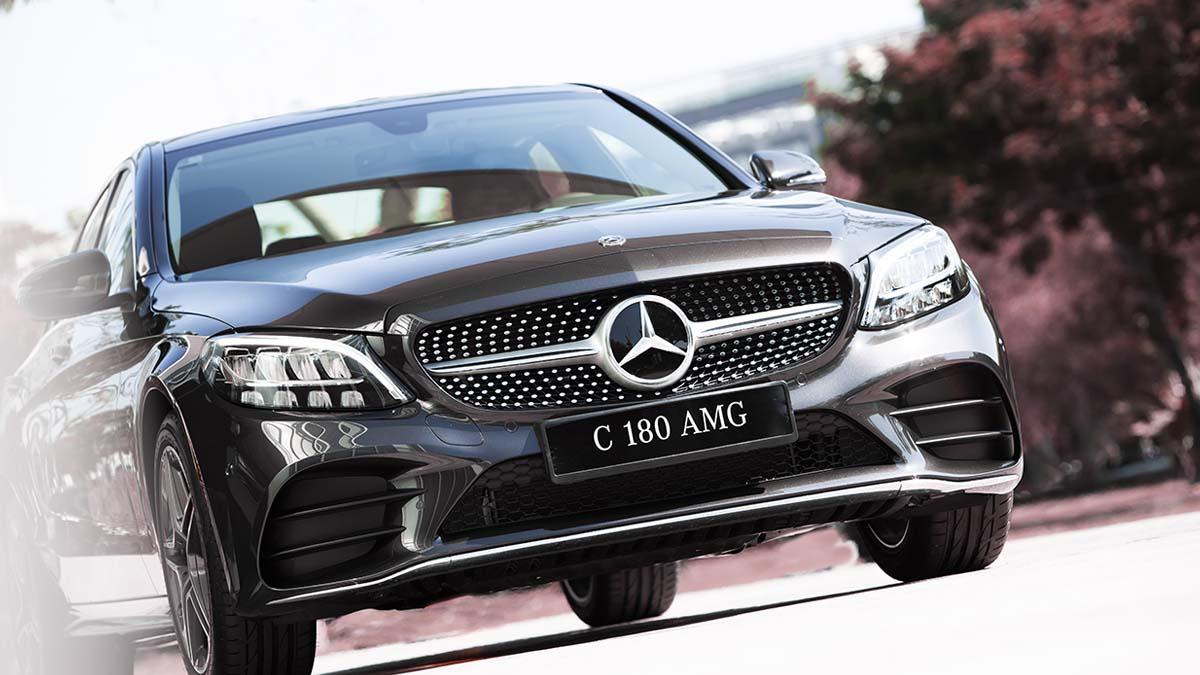Hình Ảnh Ngoại Thất Mercedes-Benz C 180 AMG